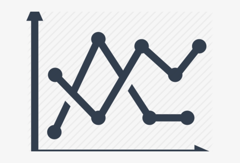 Stock Market Graph Clipart PNG Image.