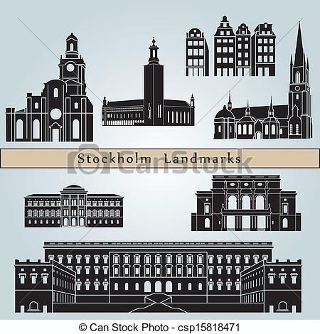 Stockholm Clipart Vector Graphics. 546 Stockholm EPS clip art.