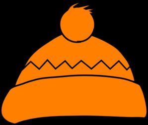 Orange Winter Hat Clip Art at Clker.com.