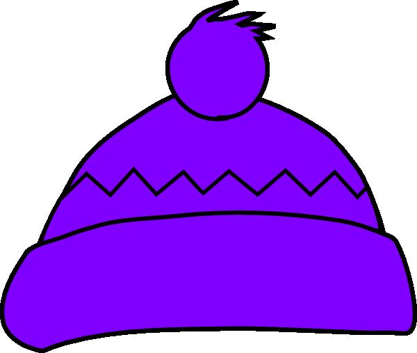 Purple Winter Hat Clip Art at Clker.com.