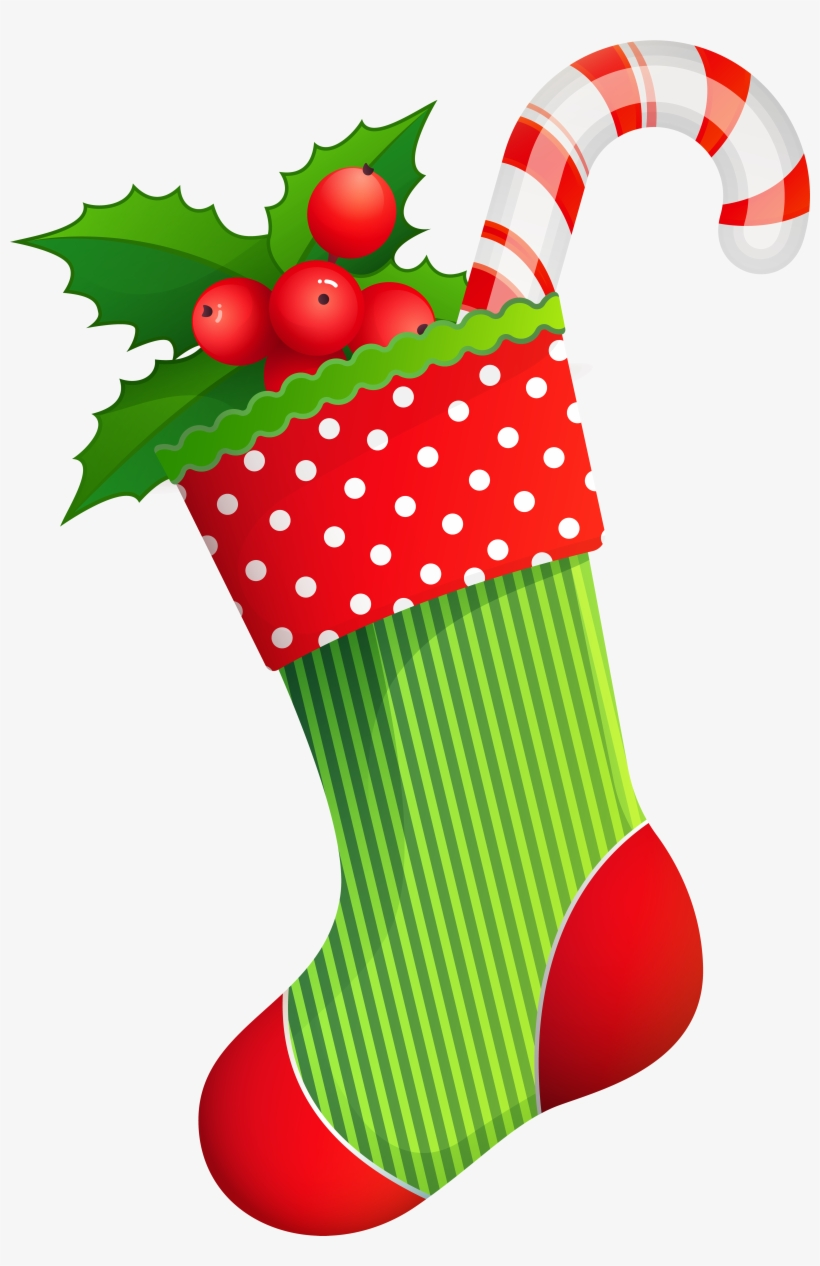 Vector Royalty Free Download Christmas Holiday Stocking.
