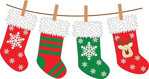 Free Christmas Stocking Clipart at GetDrawings.com.