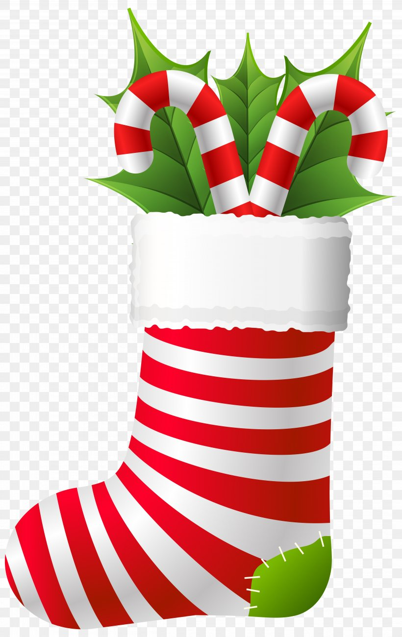 Christmas Stockings Christmas Ornament Candy Cane Clip Art.