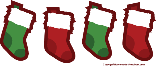 Clipart christmas stockings.