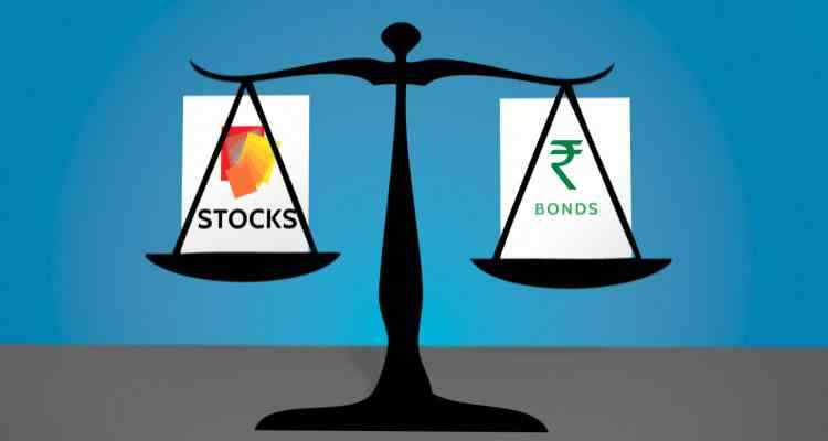 Comparison between Stocks and Bonds.