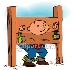 Funny Punishment Clipart.