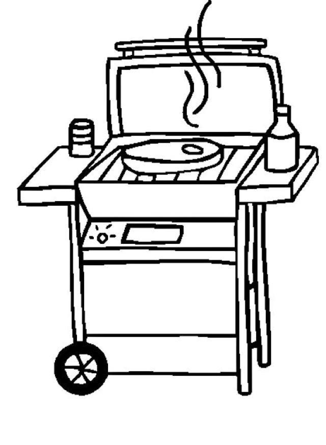 Barbecue Grill Clip Art Stok Grill Master #BvvMCd.