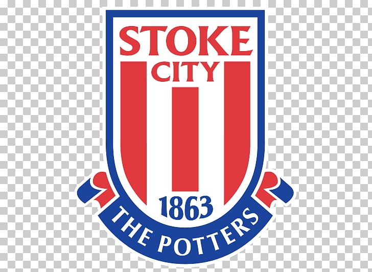 Stoke City Logo, 1863 Stoke City The Potters logo PNG.