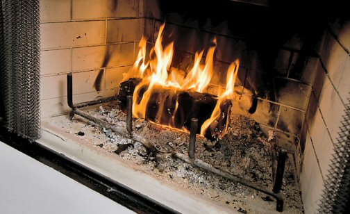 Stoke Up That Local Firewood; It's A Heating Bargain.