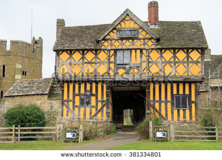 Stokesay Stock Photos, Royalty.