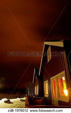 Stock Photo of stokmarknes. vesteralen island. zd8.