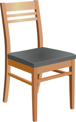 Wooden Chair Clipart.