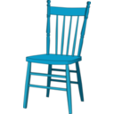 Color Wheel of Chair clipart.