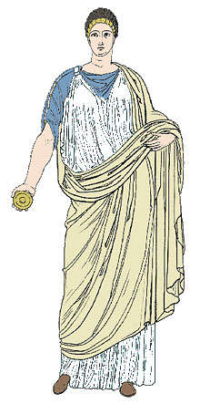 Roman Clothing, Part II.