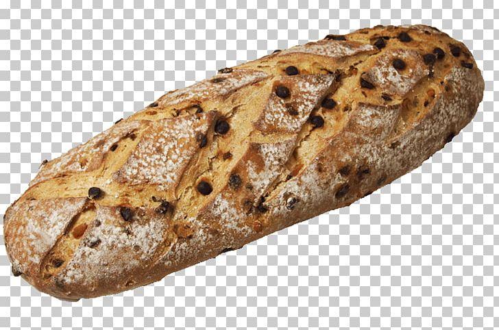 Rye Bread Baguette Stollen Brown Bread Sourdough PNG.