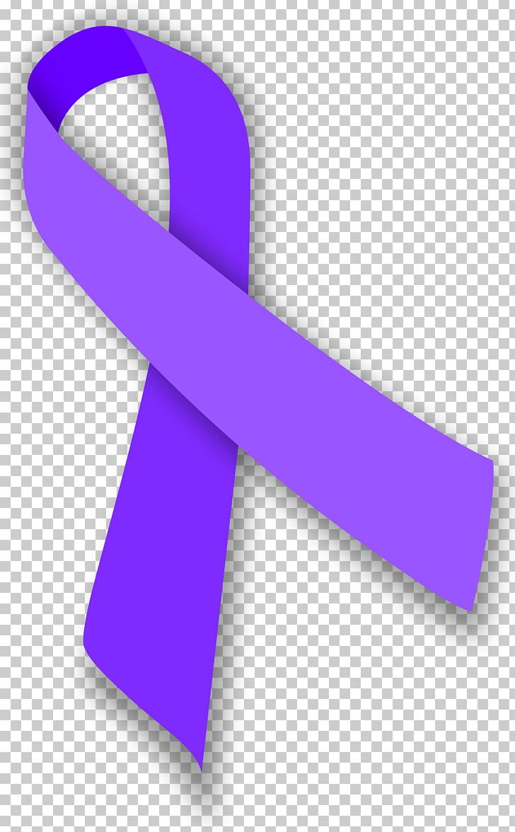 Prostate Cancer Awareness Ribbon Mulberry Stomach Cancer PNG.