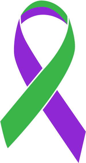 Periwinkle Blue Stomach Cancer Ribbon , Transparent Cartoon.