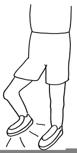 Foot Stomping Clipart.