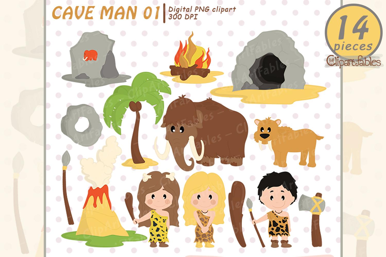 Ice age, Caveman clipart, Stone age.