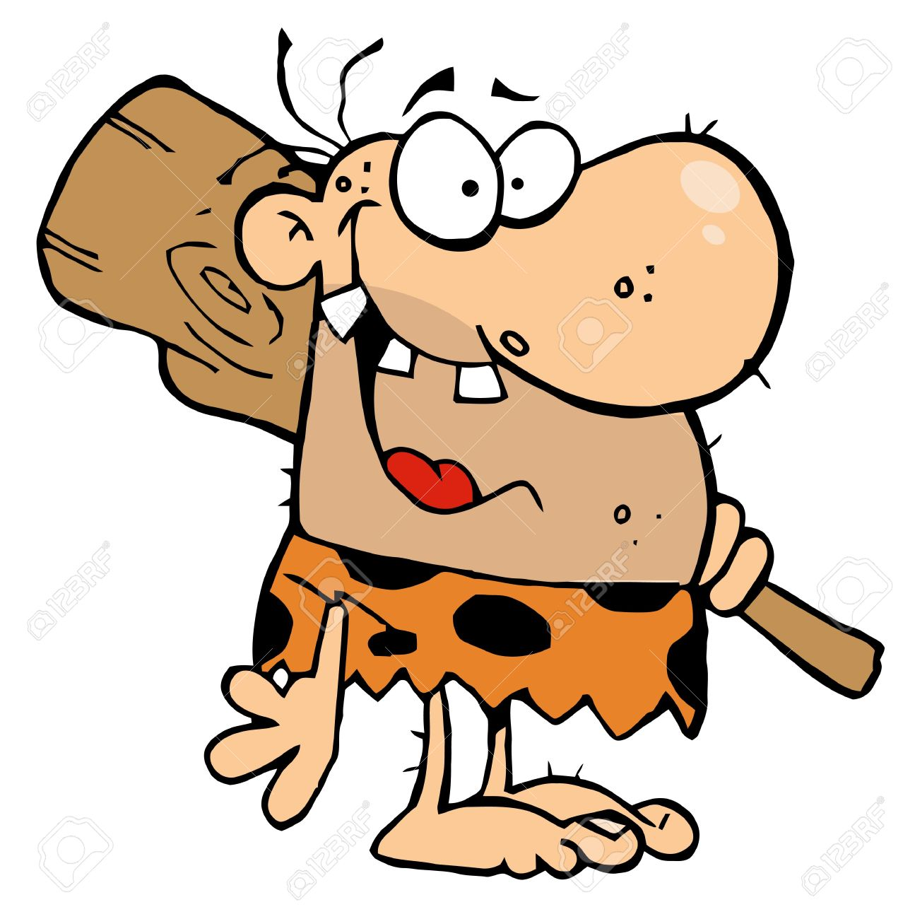 Stone age clipart 4 » Clipart Station.