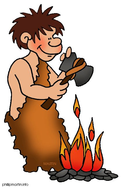 The Stone Age Clipart.