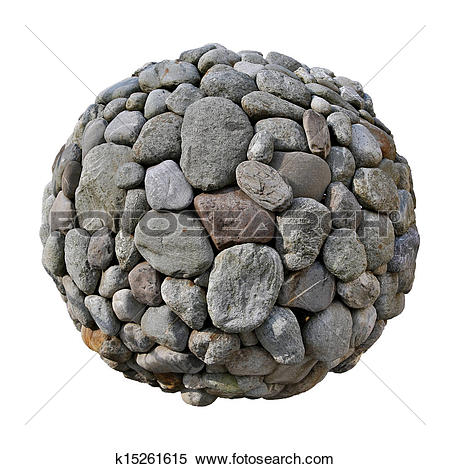 Stock Image of Stone ball k15261615.