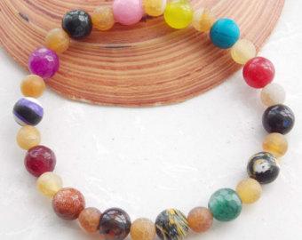 Multi stone bracelet.