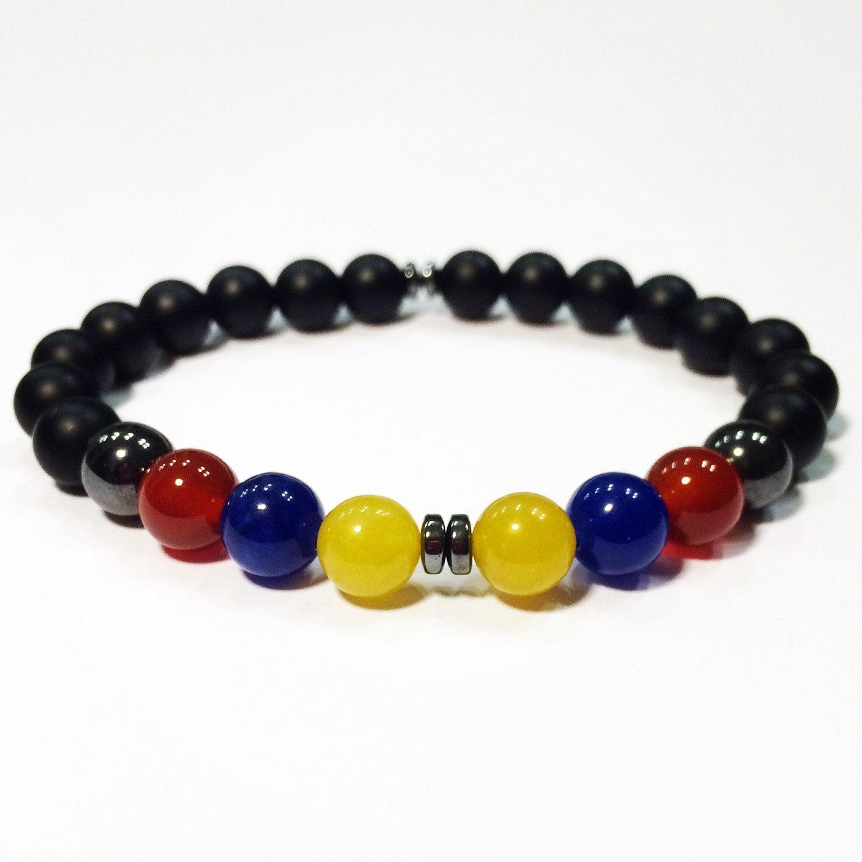 Hematite bracelet.
