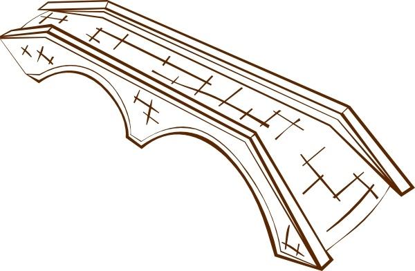 Stone Bridge clip art Free vector in Open office drawing svg.