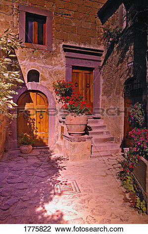 Stock Photo of A stone built house abroad 1775822.