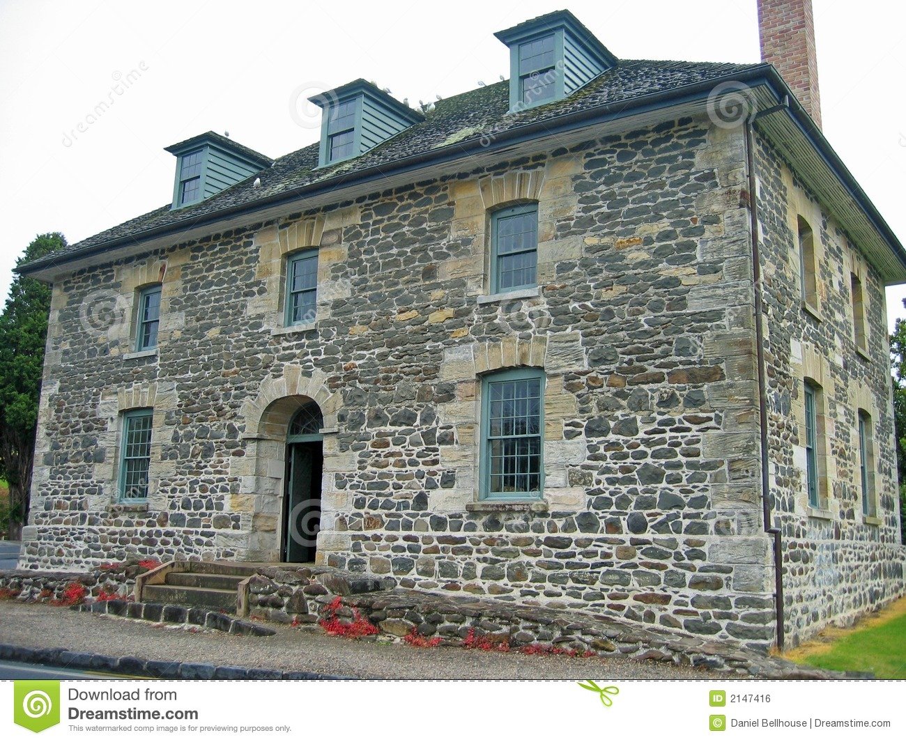 Old Stone Building Royalty Free Stock Image.