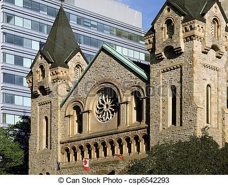 Stock Photos of Stone church in Toronto.