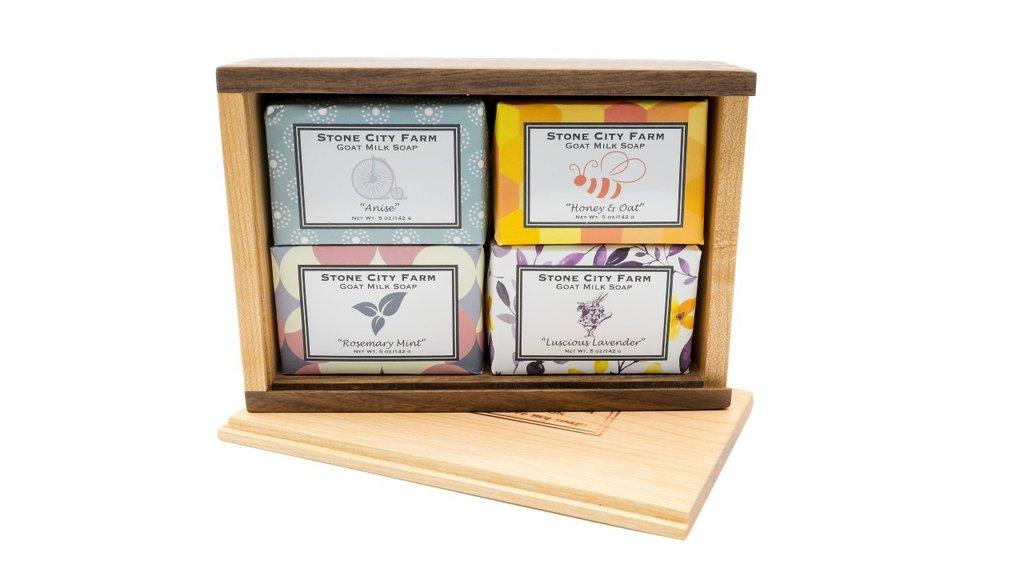 Mini Starter Box with Four Bars.