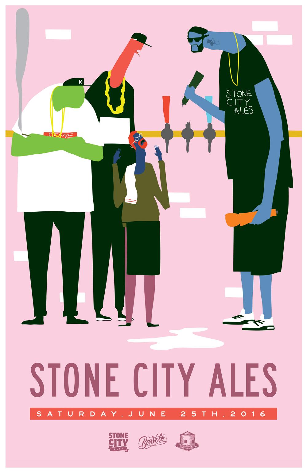 STONE CITY ALES — Bar Volo.