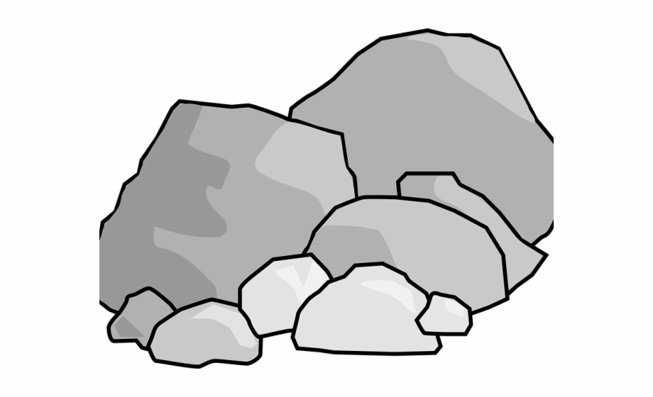 Rock Clipart Vector.