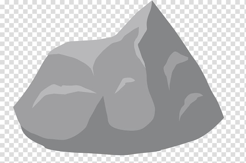 Gray stone , Rock , Stone transparent background PNG clipart.