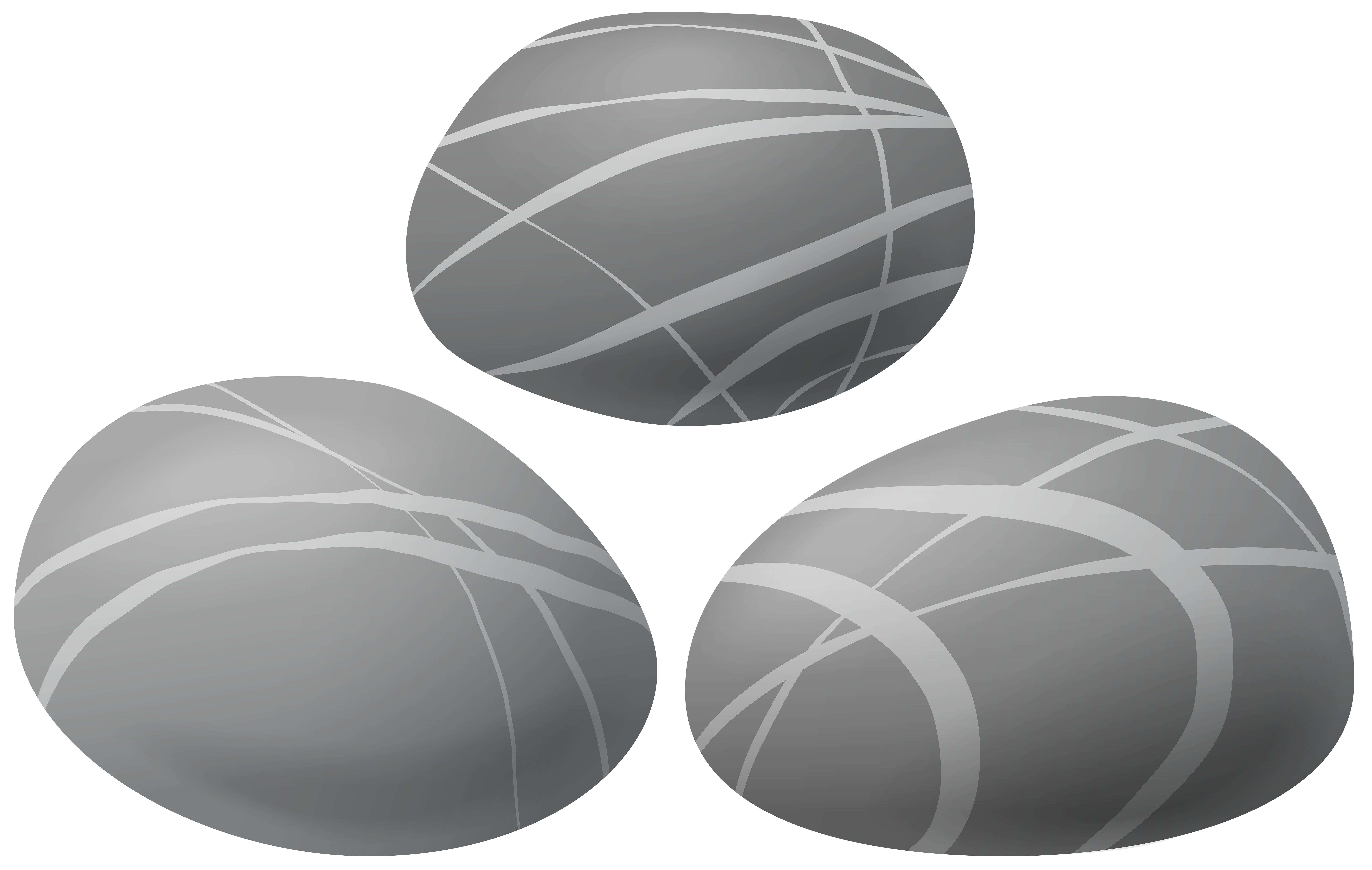 Stones Transparent PNG Clip Art Image.