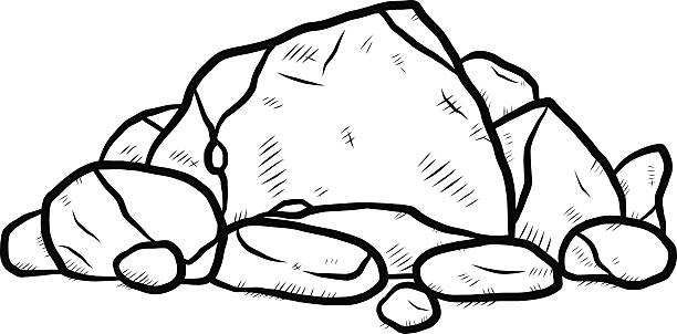 Stone clipart black and white 2 » Clipart Station.