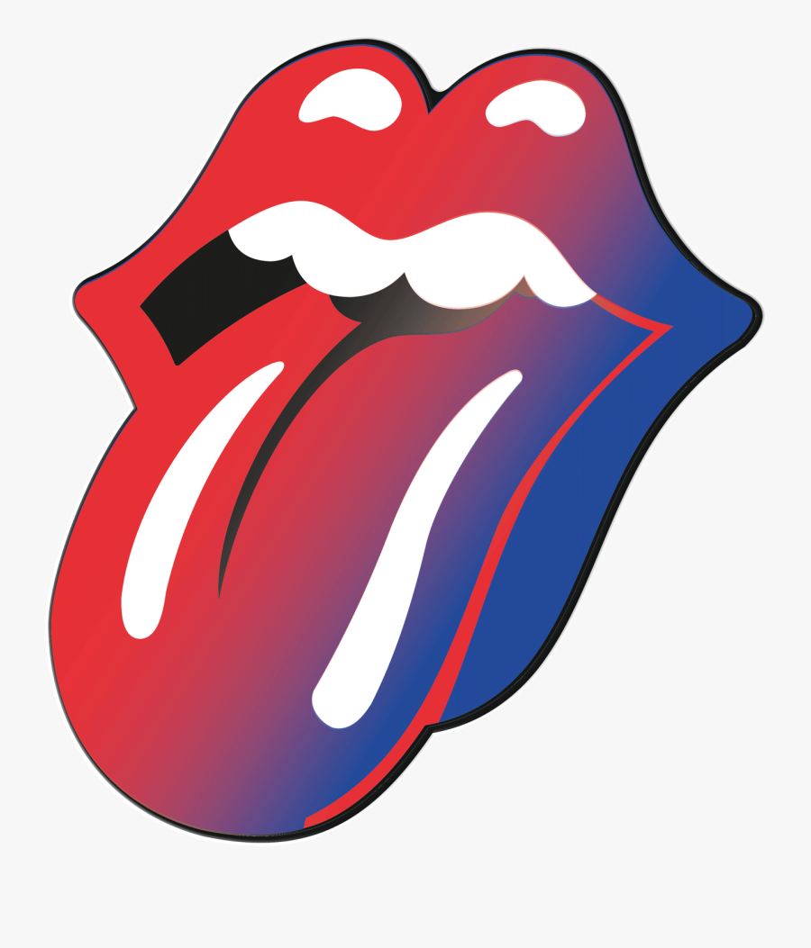 Rolling Stones Tongue Clipart , Png Download.