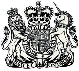 Royal Coat of Arms designed by Reynolds Stone.