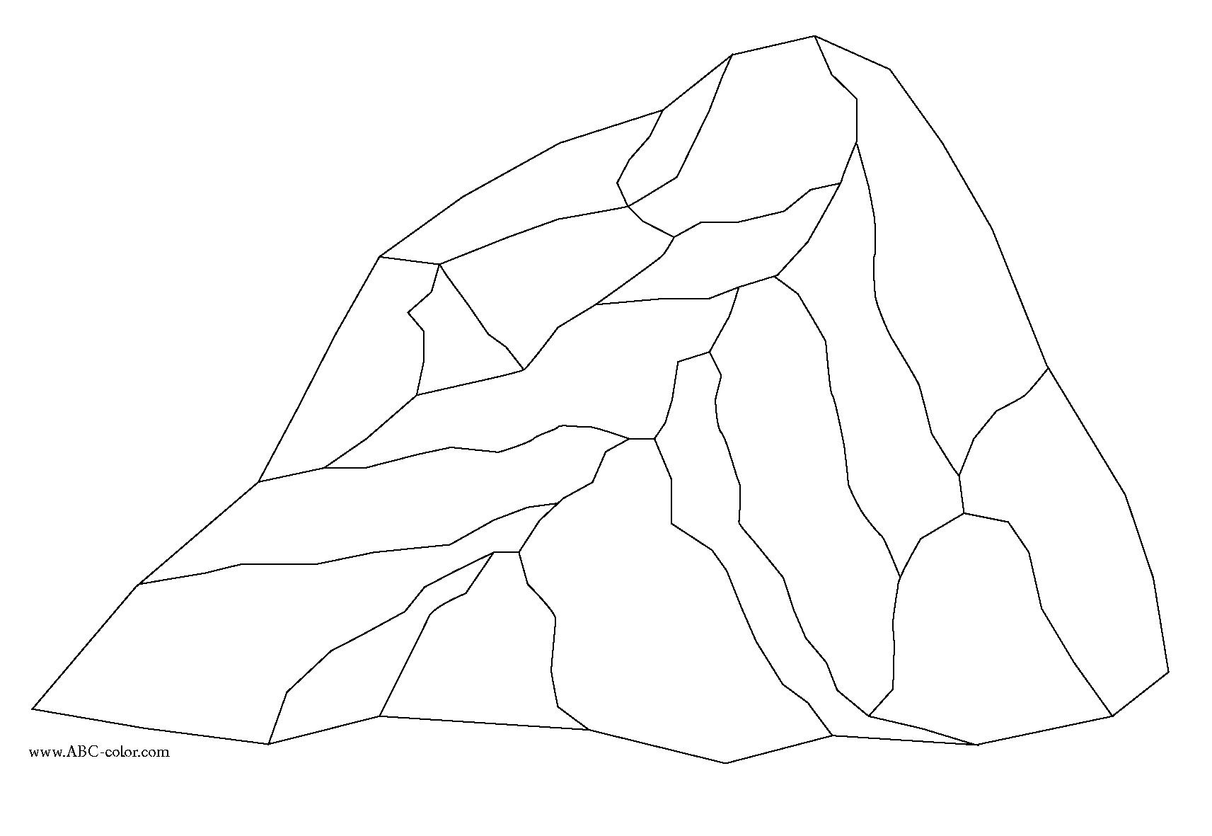 Rock Color Clipart.