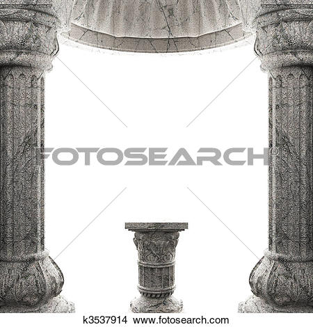 Drawings of stone column k3537914.