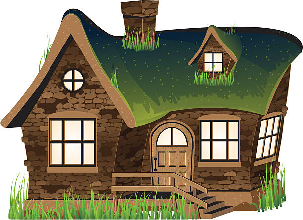 stone cottages clipart clipground