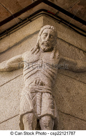 Pictures of carved stone figure of Jesus Christ in the city of.