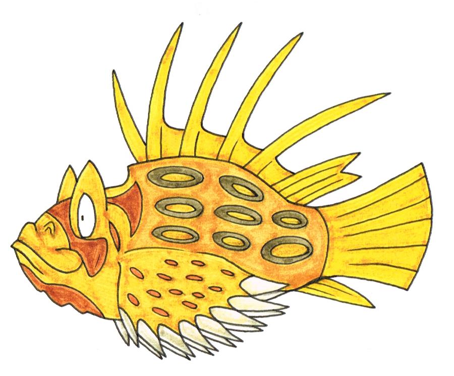 Stone Fish by Genie.