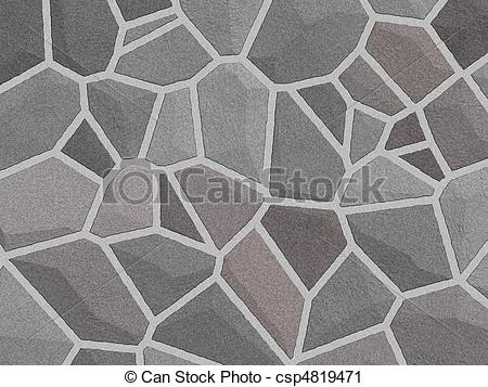 Clipart of Texture stone sherd floor.