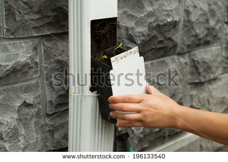Gutter Cleaning Stock Photos, Royalty.