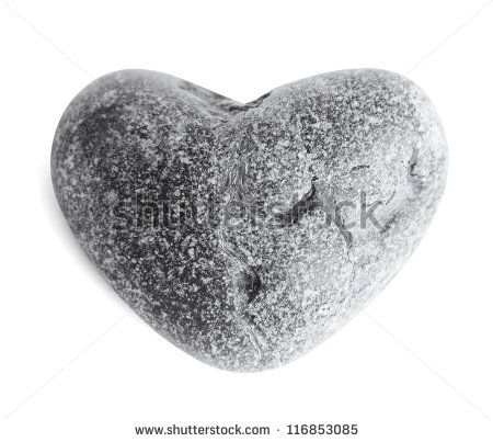 Stone Heart Stock Images, Royalty.
