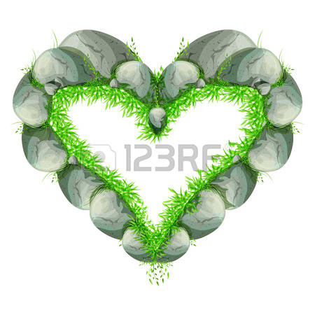 3,415 Stone Heart Stock Illustrations, Cliparts And Royalty Free.