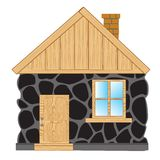 Stone House Clipart.